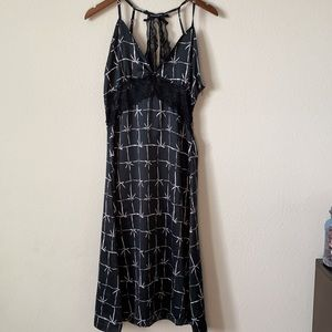 Nanette Lepore Lingerie Nightgown Lace Sexy Medium